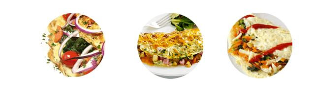omplet przepis pomysły przepisy na zdrowe śniadanie dietetyczne niskokaloryczne