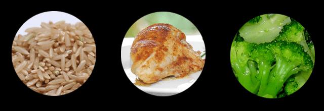zdrowy obiad przepis przepis pomysły pomysł kurczak pierś z kurczaka na ostro z papryką brokuły brązowy ryż