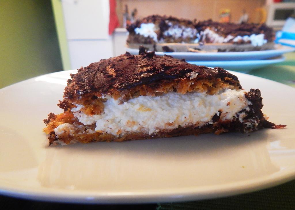 tort marchewkowy zdrowe ciasto dietetyczne