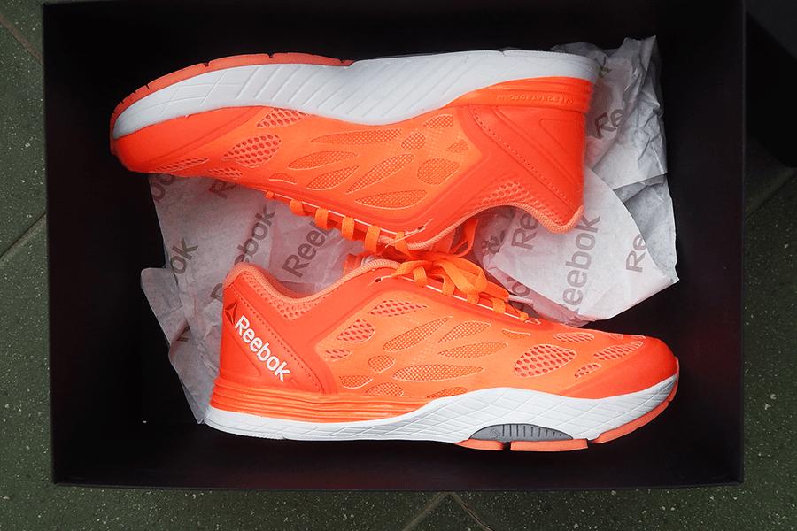 reebok cardio ultra buty pomarańczowe