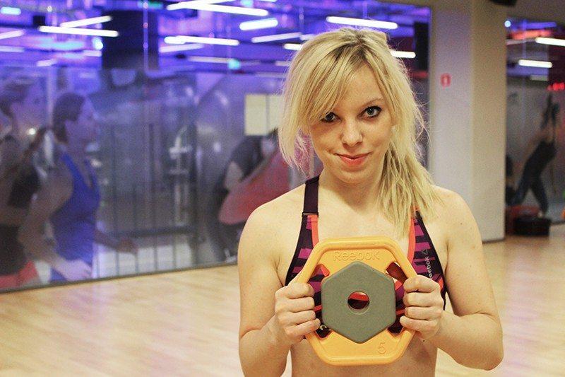 marta hennig, fit dziewczyna, trening na siłowni