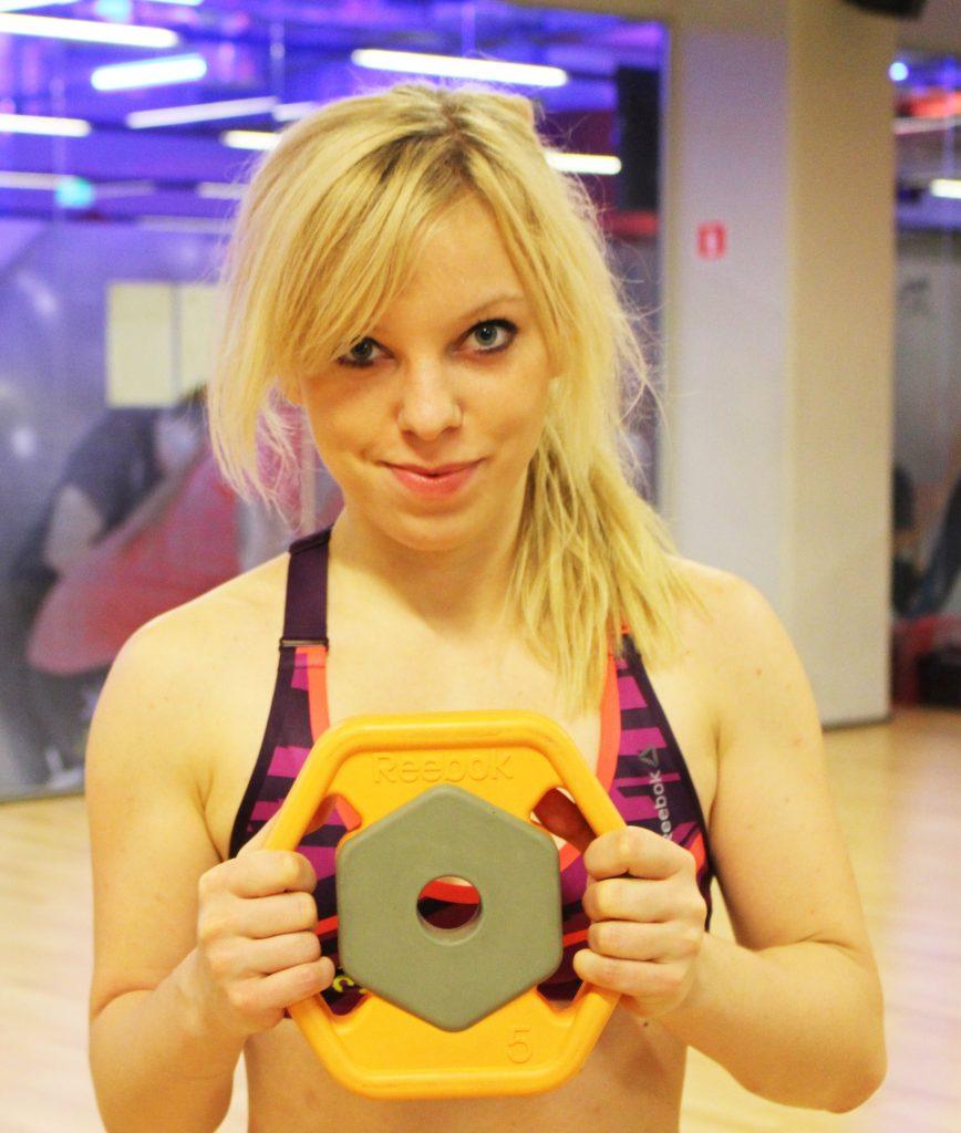 marta hennig, trening na siłowni, sport