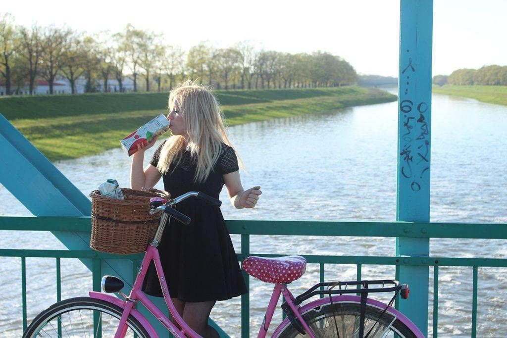 dziewczyna i rower, sport