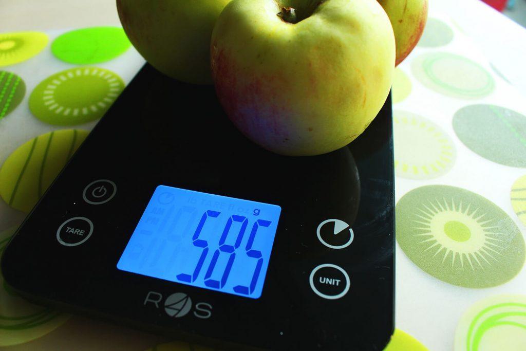 jak liczyć kalorie, waga spożywcza