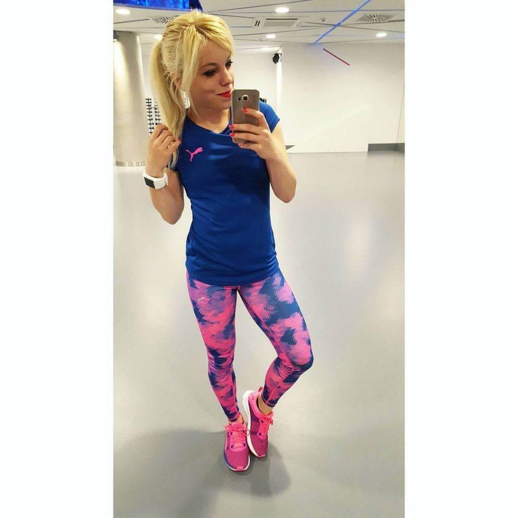 Marta Hennig, trener personalny, sala fitness, Puma