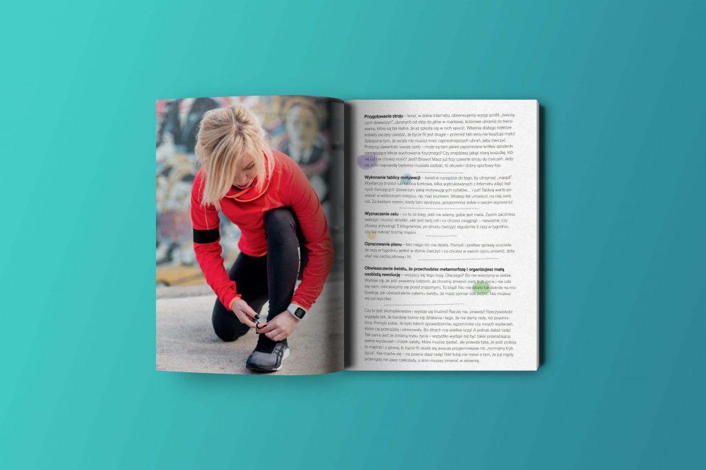 """Jak być fit - książka i poradnik dla początkujących, Marta Hennig """"Codziennie Fit"""""""
