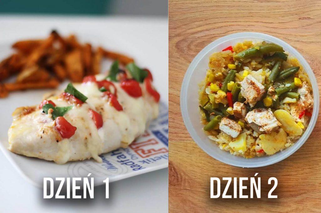 triki jak być fit na diecie, gotowanie posiłków z podobnych składników
