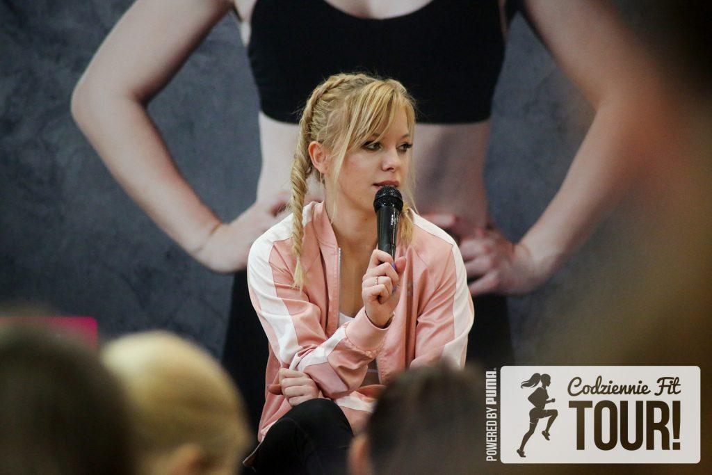 Codziennie Fit Tour, wykład, Marta Hennig