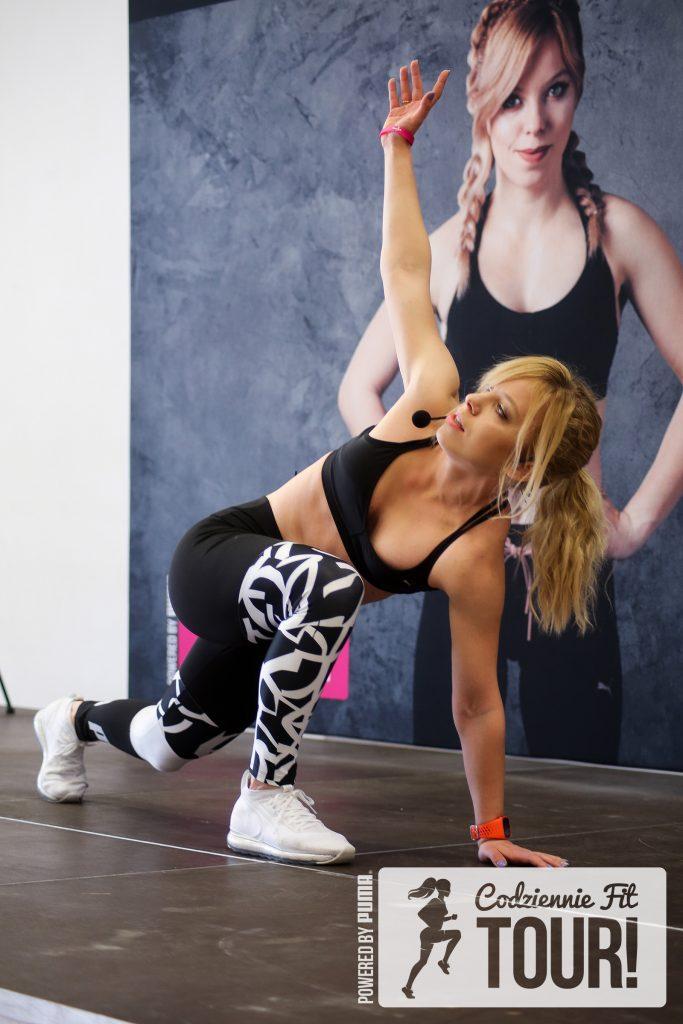 Codziennie Fit Tour Powered By PUMA, trening na żywo, Marta Hennig