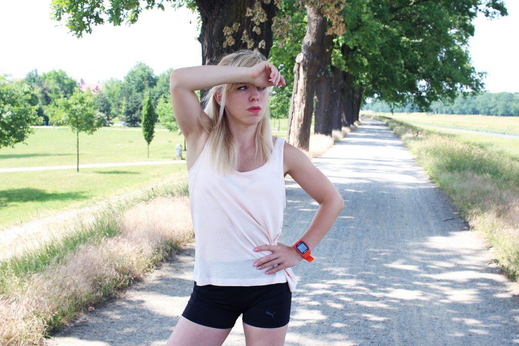 pot a spalanie tkanki tłuszczowej, Marta Hennig, trening w plenerze