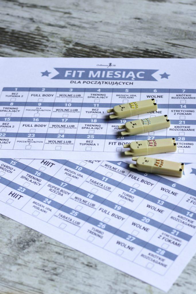 fit miesiąc plan treningowy dla początkujących i zaawansowanych