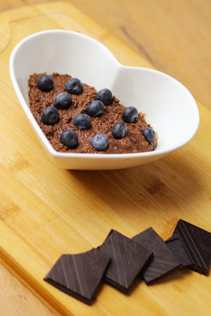 krem czekoladowy z kaszą jaglaną