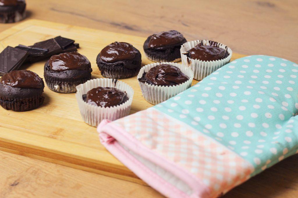 fit czekoladowe muffinki