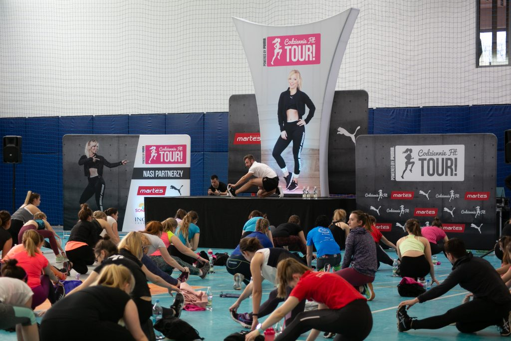 Codziennie Fit Tour Powered by Puma 2019 Poznań