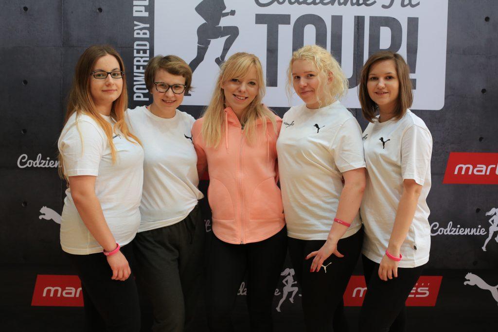 Codziennie Fit Tour, wolontariuszki, Marta Hennig
