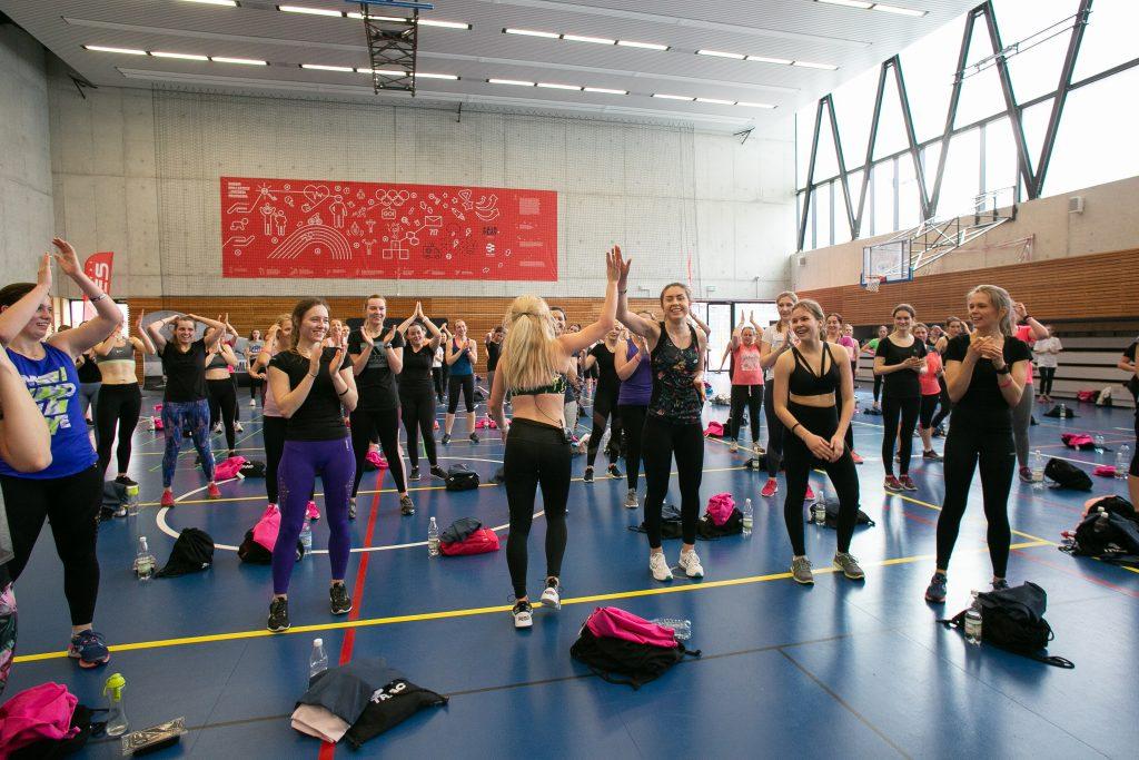 codziennie fit tour trening główny, Marta Hennig, trening grupowy