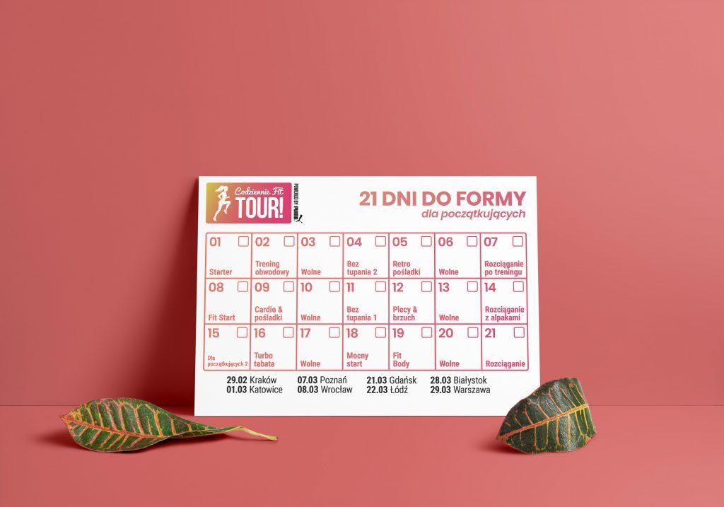 21 dni do formy plan treningowy