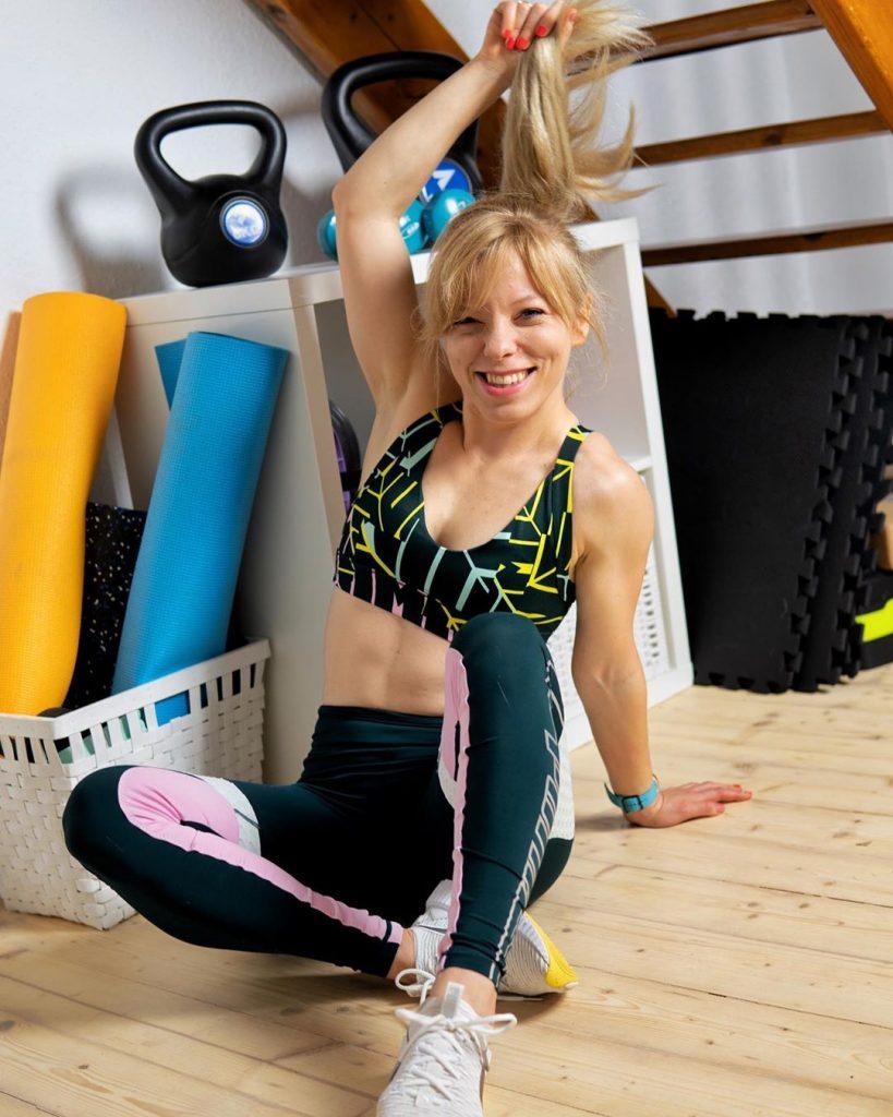 Marta Hennig, codziennie fit, ćwiczenia w domu