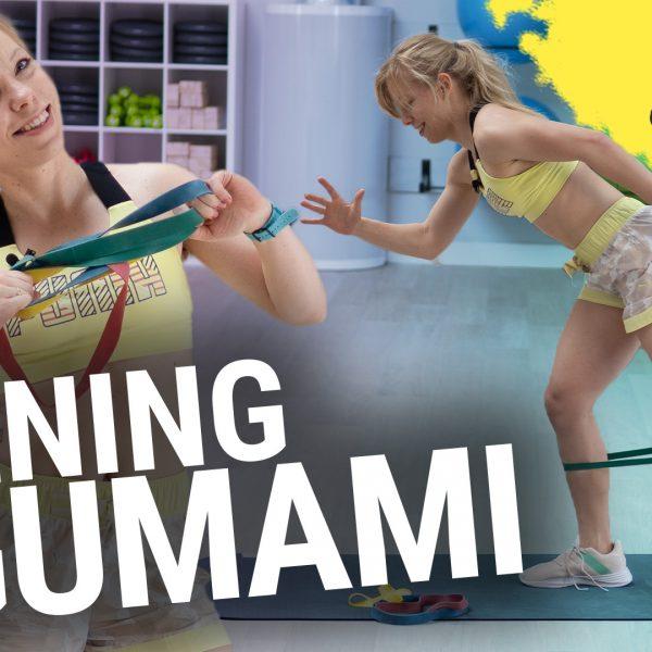 trening z gumami