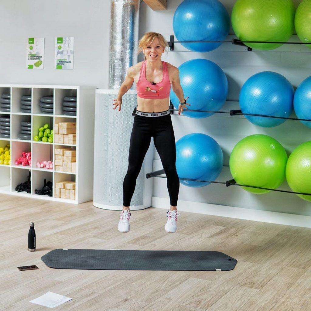 marta Hennig, ćwiczenia, trening, poziom zaawansowania