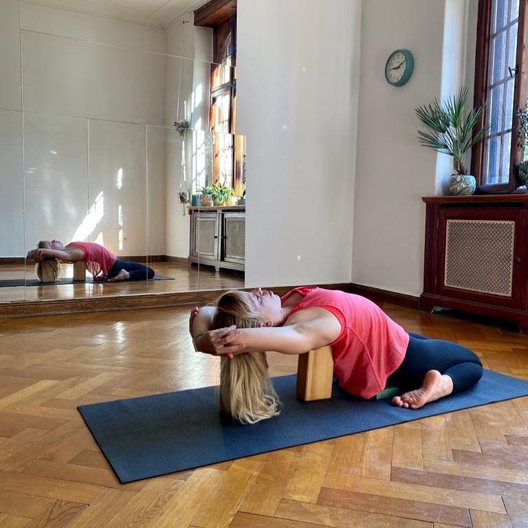 Marta Kruk, Codziennie Fit, joga