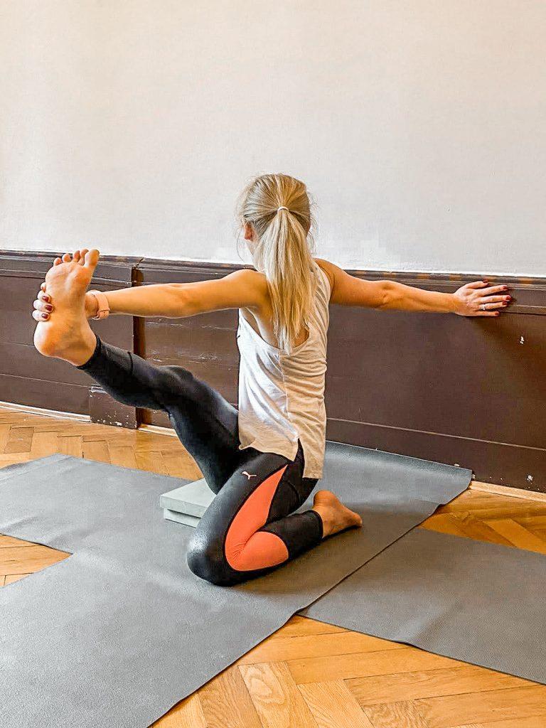 rozciąganie, joga, codziennie fit