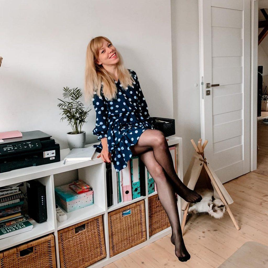 Marta Kruk, Codziennie fit, fit dziewczyna w sukience, kot w tipi