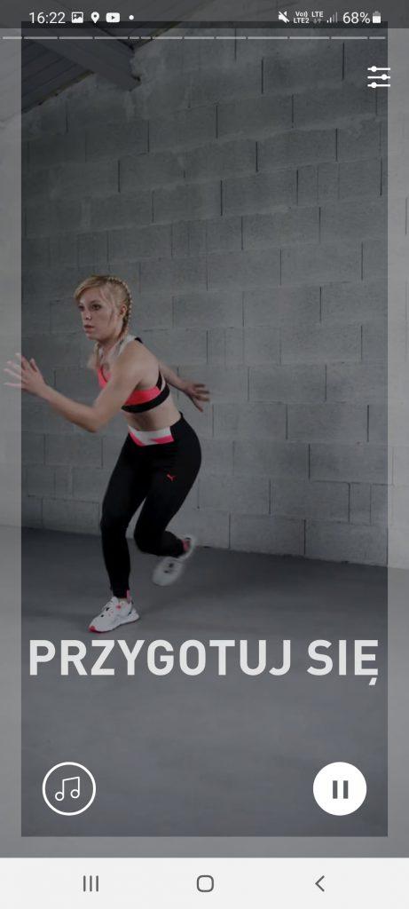 forma w 21 dni, wyzwanie treningowe, pumatrac, codziennie fit