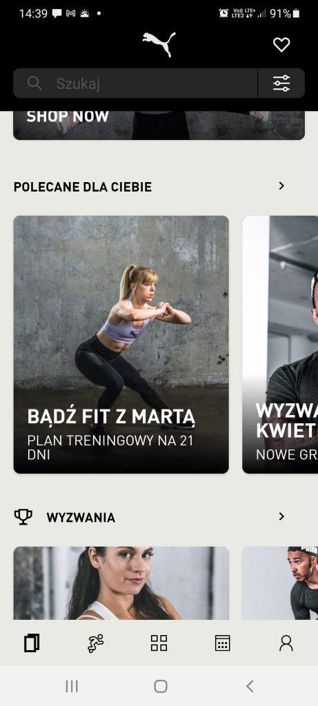 Marta Kruk, Codziennie fit, wyzwanie treningowe forma w 21 dni, pumatrac