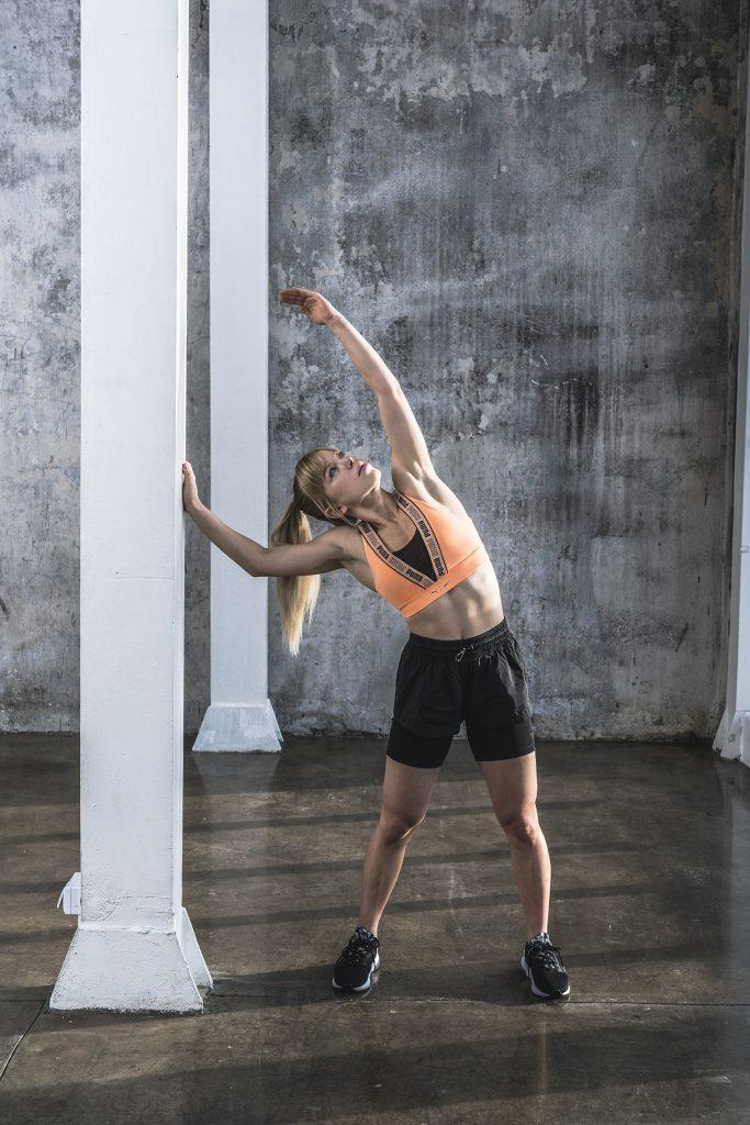 Marta Kruk, Codziennie fit, rozciąganie, wyzwanie treningowe forma w 21 dni
